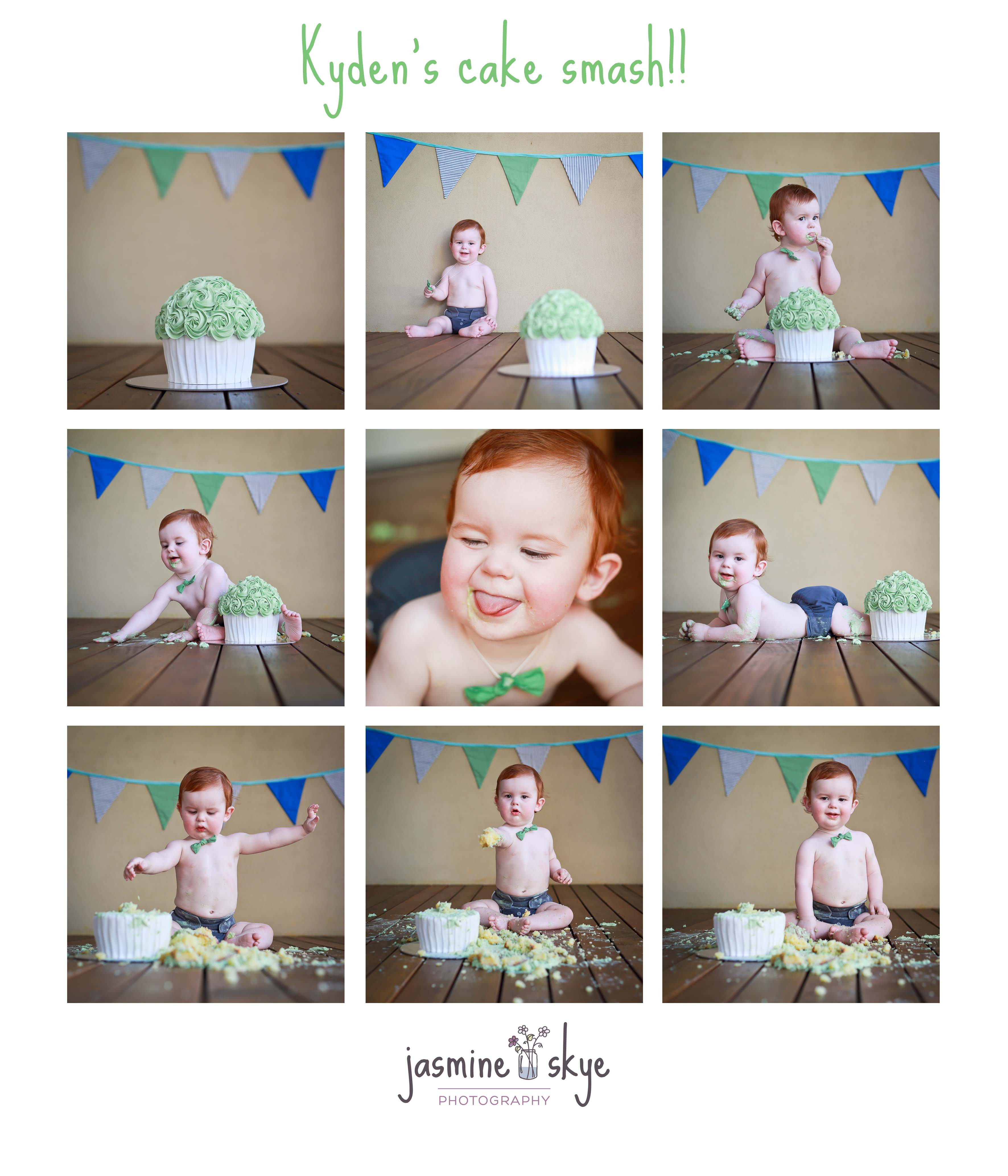 cake smash photographer perth