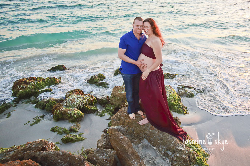 beach pregnancy photography