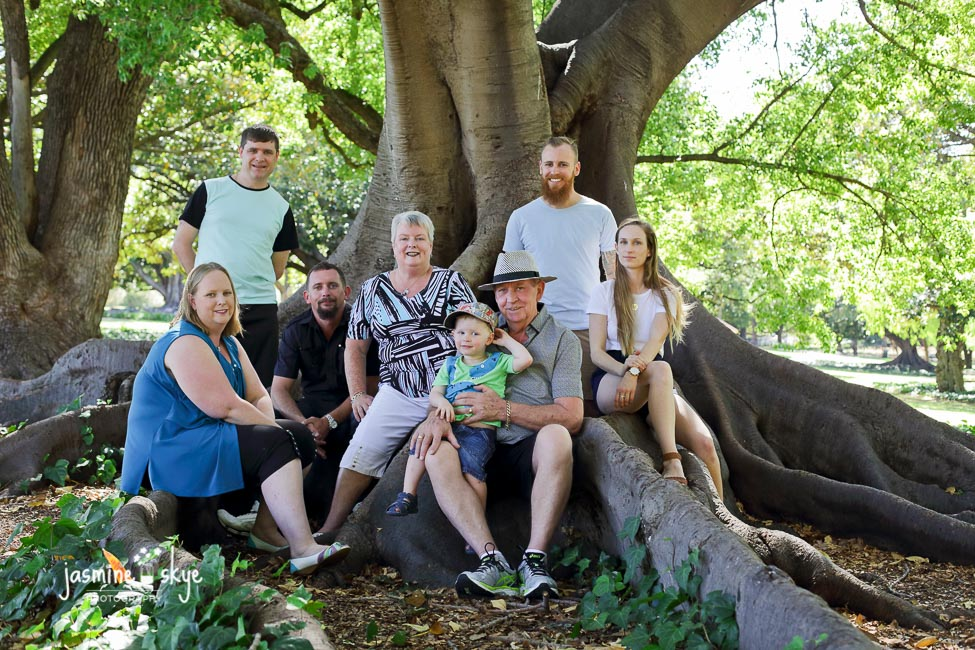 extended family photography perth