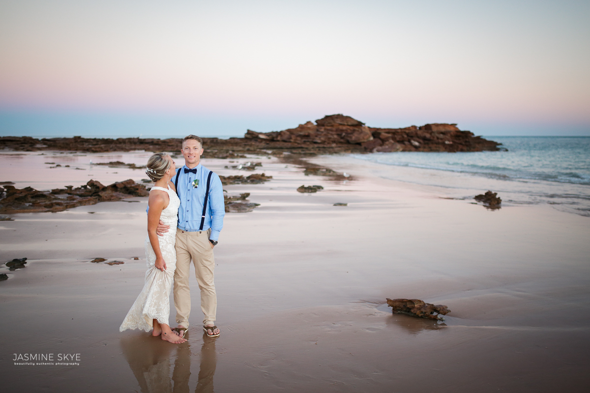 broome sunset wedding