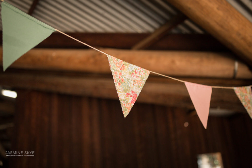 wedding bunting DIY